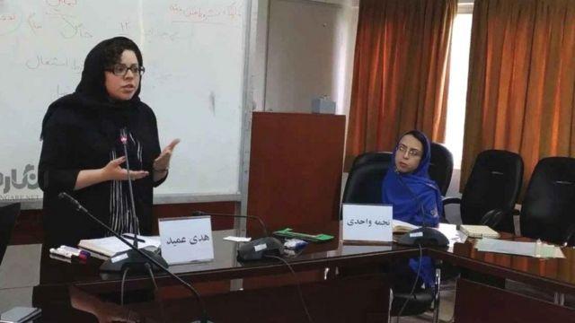 کارگاه آموزشی هدی عمید و نجمه واحدی درباره قوانین خانواده در ایران