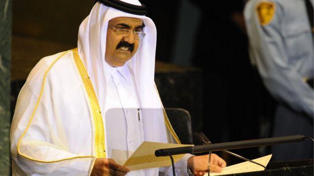 Sheik Hamad bin Khalifa discursa na ONU