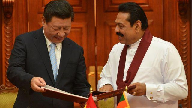 चीन और श्रीलंका