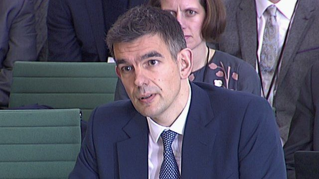 Google's UK head, Matt Brittin, appearing before the Public Accounts Committee