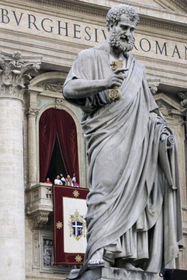 Daya daga cikin manyan gumakan da ke cikin cocin Saint Peter a Vatican