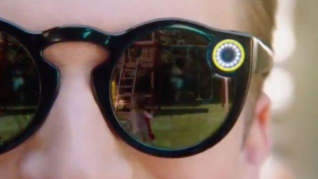 Una imagen del video sobre las Spectacles que se colgó en YouTube, ya retirado.