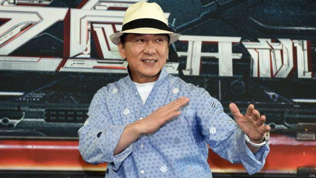 हॉन्ग कॉन्ग के सुपर स्टार जैकी चैन