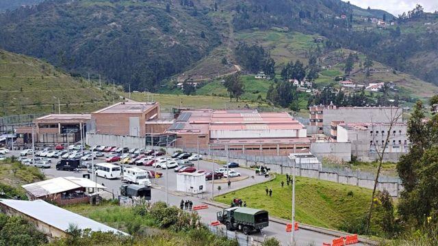 Cárcel de El Turi, Cuenca, provincia de Azuay,