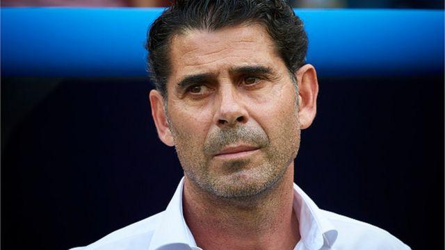 Fernando Hierro na Spen
