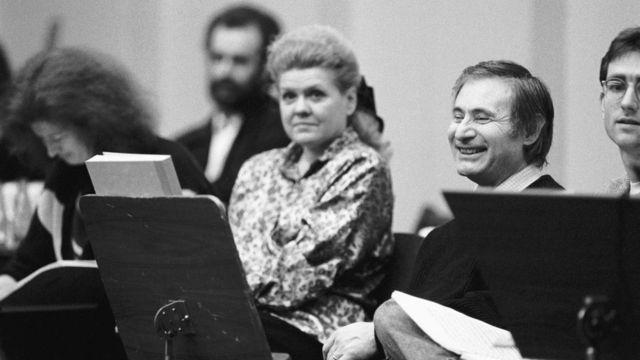 Альфред и Ирина Шнитке