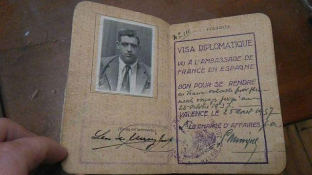 Pasaporte de Lezo Urreiztieta