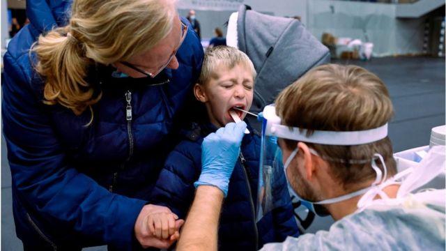 Тестирование в Дании