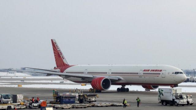 Air india uçağı