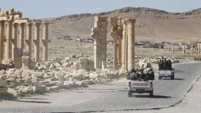 مدينة تدمر الأثرية