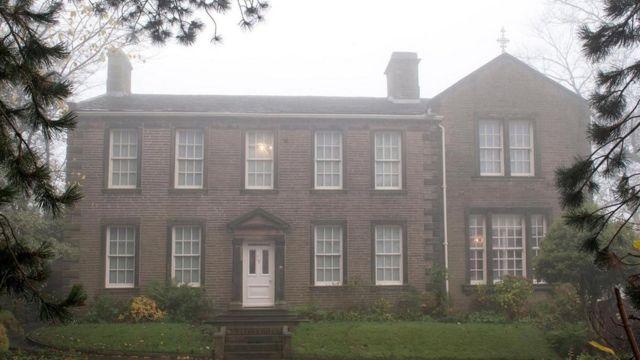 La casa de la familia Brontë