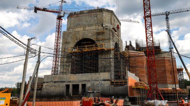 Строительство Главного храма вооруженных сил