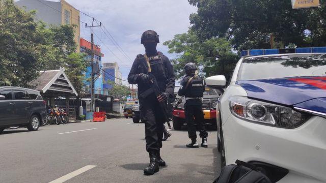 تفجير كنيسة ماكاسار في اندونيسيا