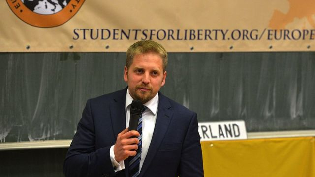 Vit Jedlicka es un político checo promotor de Liberland.