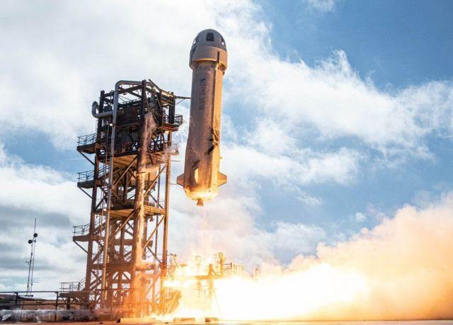 जेफ़ बेज़ोस की अंतरिक्ष यात्रा