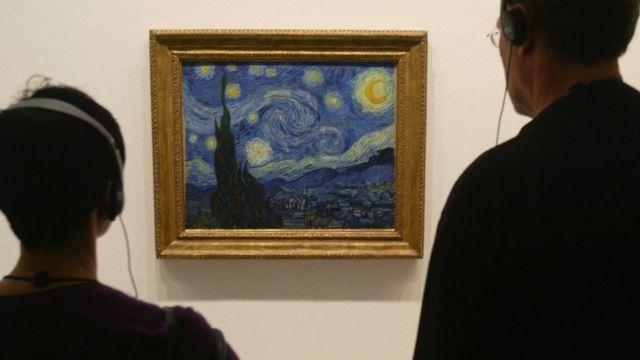 Obra de Van Gogh, La Noche Estrellada