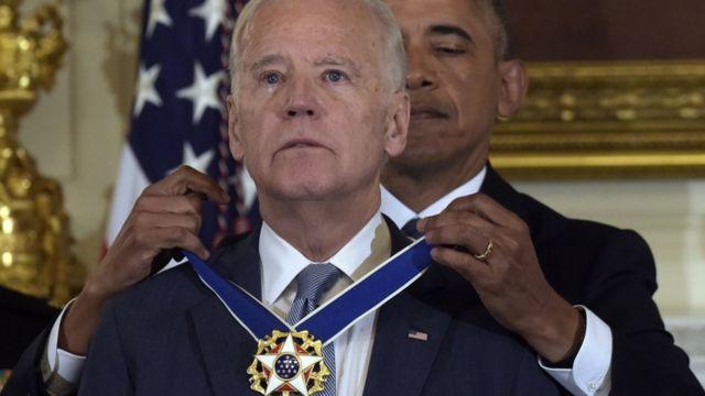 Joe Biden na Barack Obama