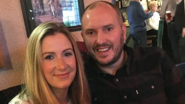 Rachael Bland wit her husband Steve