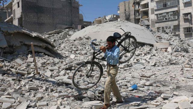 シリア内戦 戦闘行為の停止始まる - BBCニュース