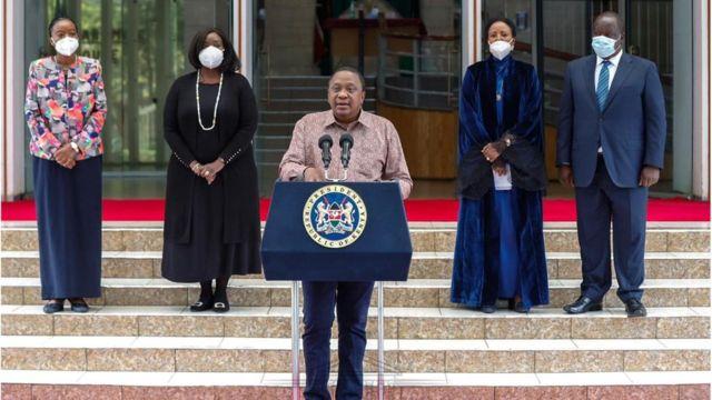 Madaxweyne Kenyatta oo shaacinaya musharraxnimada danjire Aamina Maxamed