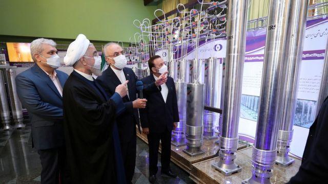 منشأة نووية إيرانية.