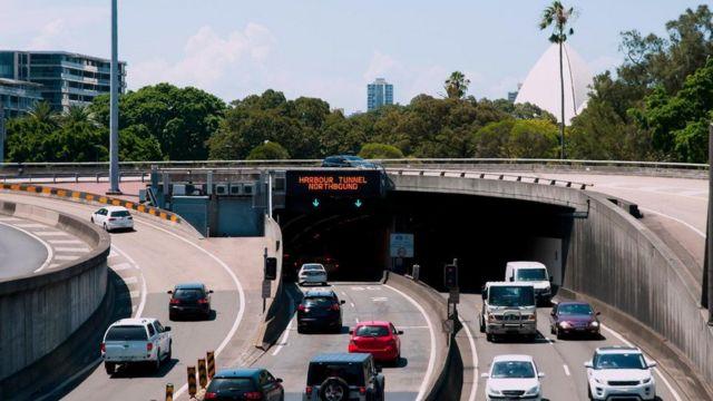 悉尼港隧道