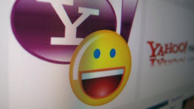 Un símbolo de Yahoo