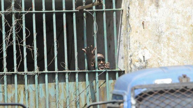 L'évasion a eu lieu lors de l'arrivée, dans la prison, d'un nouveau détenu (photo d'archives).
