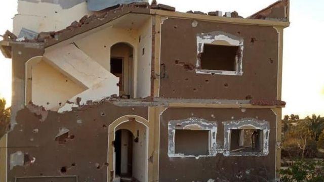 منزل سيناوي محطم