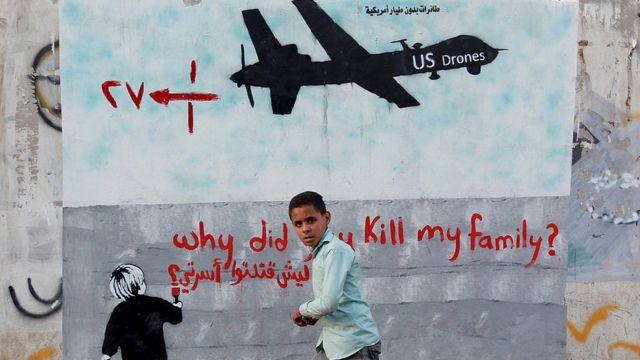 drones en Yemen