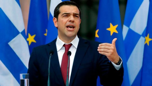 Eski Yunanistan Başbakanı Aleksis Çipras