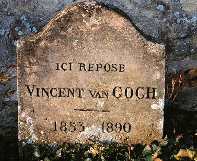 Lápida de la tumba de Van Gogh