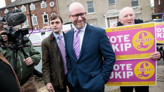 Paul Nuttall liderliğindeki UKIP, net göçün sıfıra indirilmesini savunuyor.