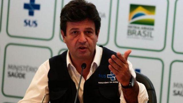 Então ministro da Saúde, Luiz Henrique Mandetta disse que primeiro caso do novo coronavírus no Brasil pode ter sido em dezembro ou janeiro