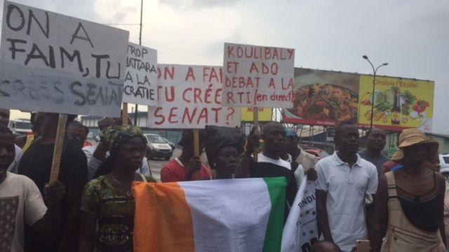 L'opposition a appelé les Ivoiriens à ne pas participer au référendum sur la Constitution prévu dimanche.