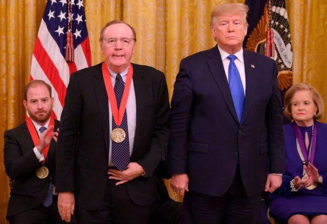 Паттерсон и Дональд Трамп