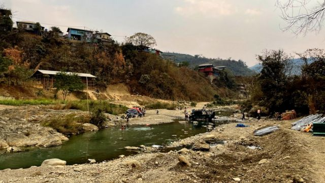 The India Burma border