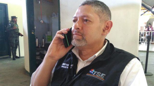 Marco Ramiro Lobo, magistrado del Tribunal Electoral de Honduras