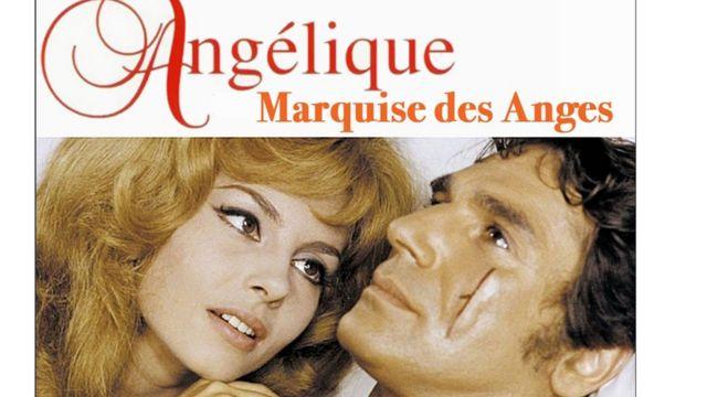 """Постер фільму """"Анжеліка - маркіза ангелів"""""""