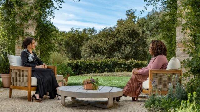 Entrevista de Meghan Markle con Oprah.