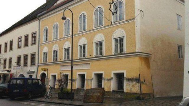 صورة المنزل الذي ولد فيه هتلر
