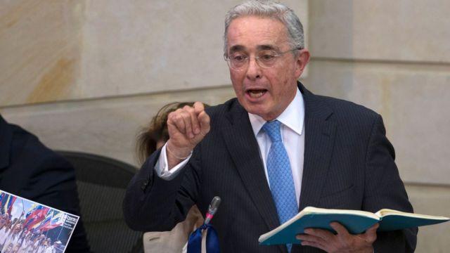 Uribe en el Congreso