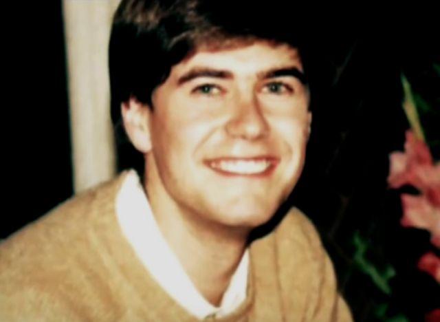 James Hamilton cuando era joven.