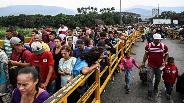 Según Acnur, unos 3,4 millones de venezolanos han emigrado en los últimos años.