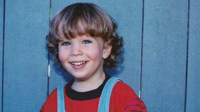 Robert quando criança