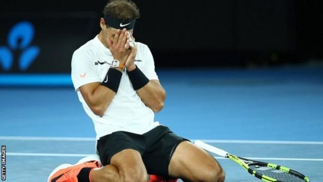 """Nadal ariko ararondera gutsinda ihiganwa """"Australian Open"""" incuro ya kabiri"""