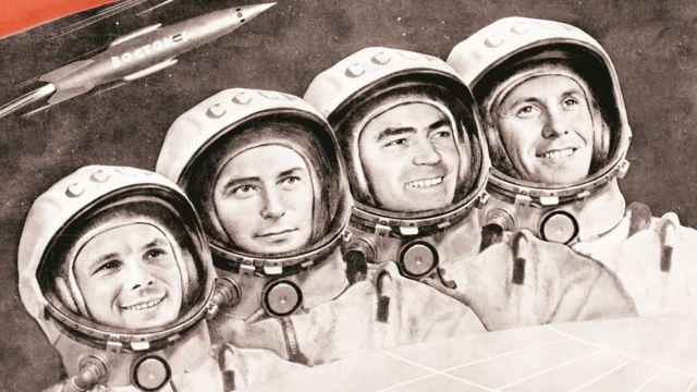 Cosmonautas rusos