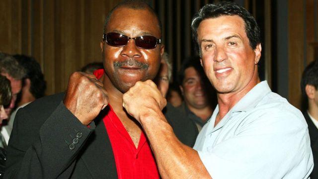 Apollo Creed y Rocky Balboa