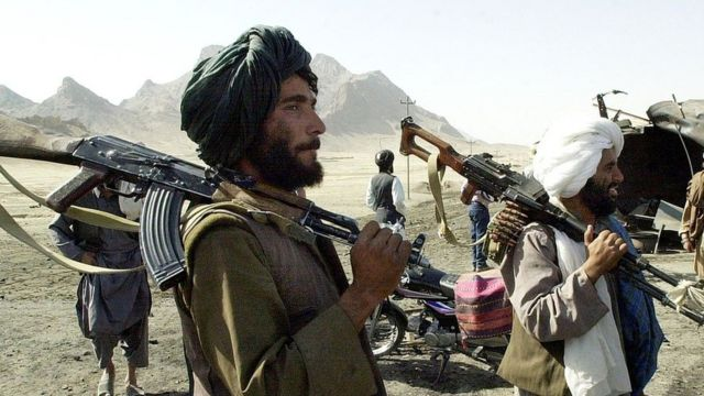 Taliban gumen control Kandahar-Herat Highway, near Kandahar city, 31 October 2001