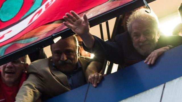 Lula em São Bernardo na sexta-feira